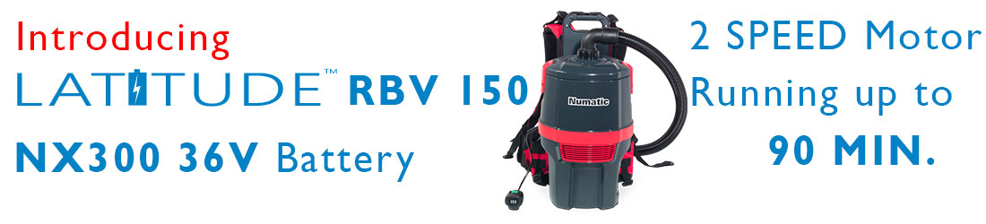 Latitude  Battery Powered Backpack Vacuum Cordless