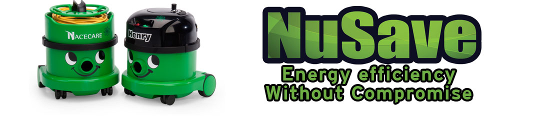 Nusave Green Vacuums